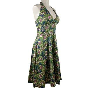 Floral Lilly Pulitzer Halter Dress 6